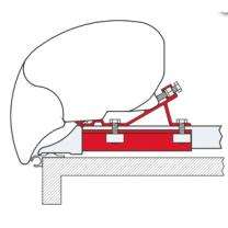 FIAMMA KIT ADAPTATEUR FIXING BAR PRO L