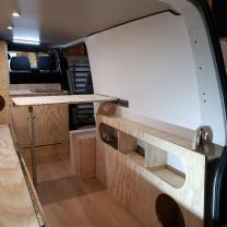 VAN COSY EXEMPLE AMENAGEMENT COMPLET  L1 OU L2 H1 POUR SURFEUR